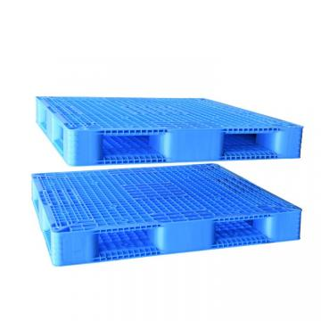 Hygienic Light Duty Plastic Pallets with 3 Skids for Food Beverage Seafood Industry