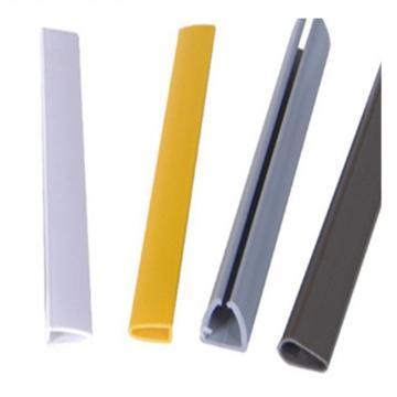 Customized U-shaped Plastic PVC UPVC Profile For Window Frame