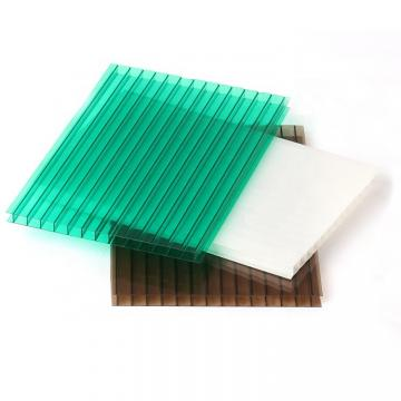 7-Wall Diamond Structure U-Lock Polycarbonate PC Hollow Sheet