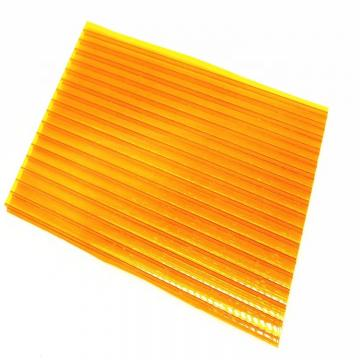 UV Coated PC Hollow Sheet PC Solid Polycarbonate Sheet Price