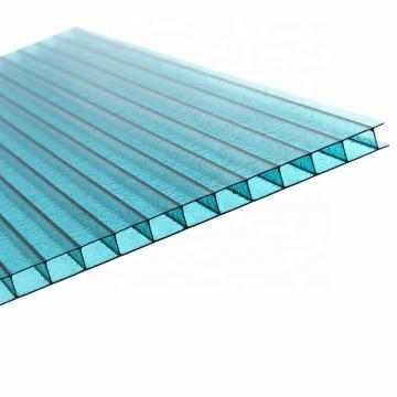 6mm Anti Fog Hollow Polycarbonate Corrugated Sheet Roofing Sheets Price List