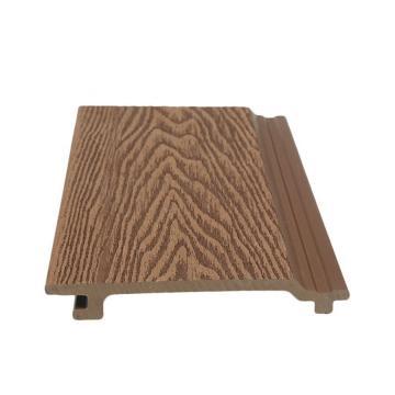 Low Maintenance Eco Friendly Wood Plastic Composite WPC Cladding
