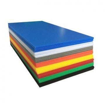 Custom Polypropylene Coroplast Hollow Plastic Panel Signs Advertising Sheet