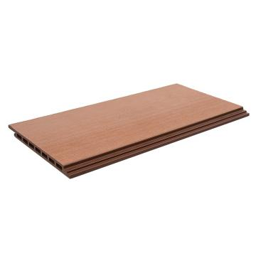 Crack-Resistant Outdoor Hollow Low Price Wood Plastic Composite WPC Decking