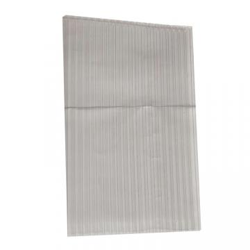 Double Wall Polycarbonate Roofing PC Plastic Material Roofing Hollow Sheet