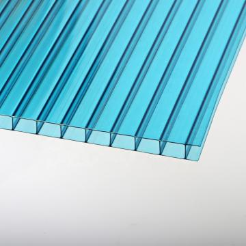 Four Walls Hollow Plank Clear Plastic Polycarbonate Sheets 4X8