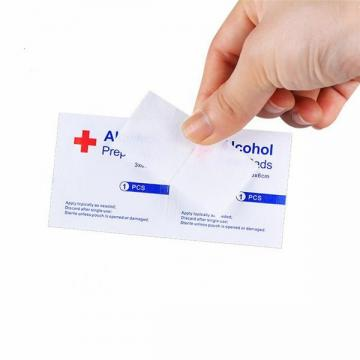 2020 Best Selling China Cheap Sterile Medical 70% Isopropyl Non-Woven Alcohol Pad