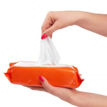 Customised 75% Alcohol Antiseptic Wet Tissue / 10% Wet Wipes with Alcohol