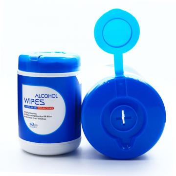 10PCS Eco Friendly Sanitizing Wet Tissue Alcohol Wet Wipes