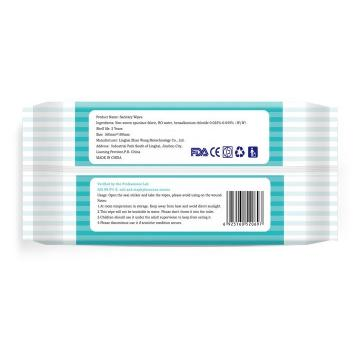 OEM Brand 75% Isopropyl Alcohol Disinfection Cleansing Wet Wipes