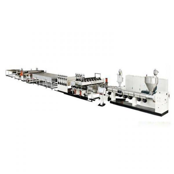 PP hollow sheet production line/pc sheet production line/pc polycarbonate hollow sheet extrusion machine #3 image
