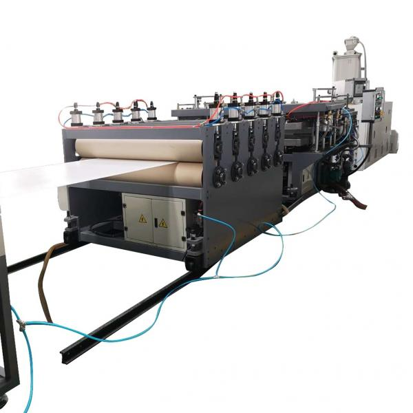 PC PP Plastic Hollow Grid Board Production Line/PP Hollow Sheet Making Machine #1 image