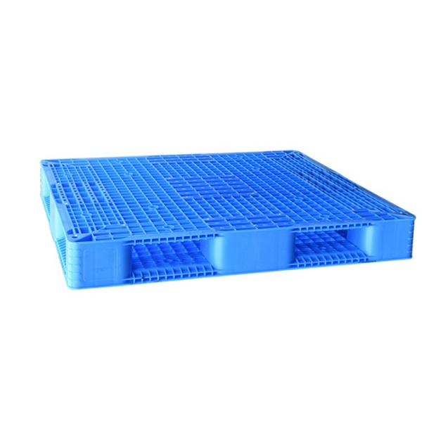 Double sides warehouse storage stacking use plastic pallet for flour bags #1 image