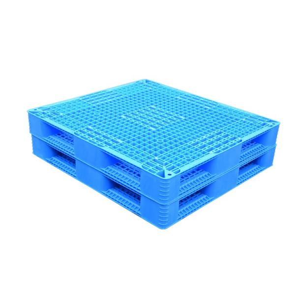 Stackable double sides flour industry plastic pallet #1 image