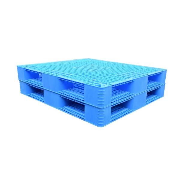 Double sides warehouse storage stacking use plastic pallet for flour bags #2 image
