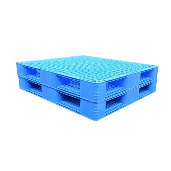 Stackable double sides flour industry plastic pallet #2 image