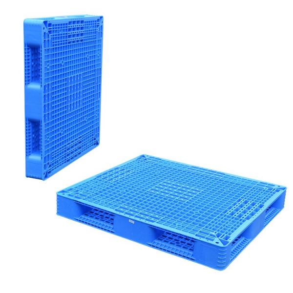 Double sides warehouse storage stacking use plastic pallet for flour bags #3 image