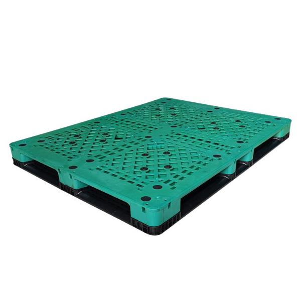 Heavy duty plastic pallet for beverage industry #3 image