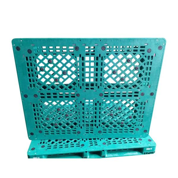 Hot Sale Standard 4way Entry HDPE Plastic Pallet Mesh for Bottle Beverage Industry #5 image