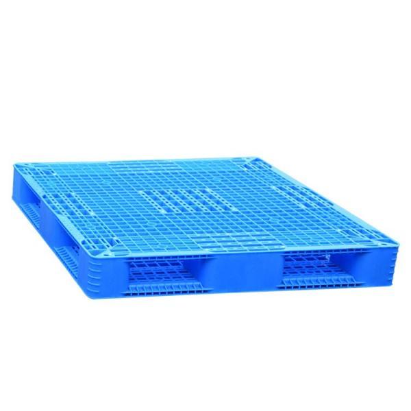 Stackable flat top anti slip large food grade plastic pallet for sale #1 image