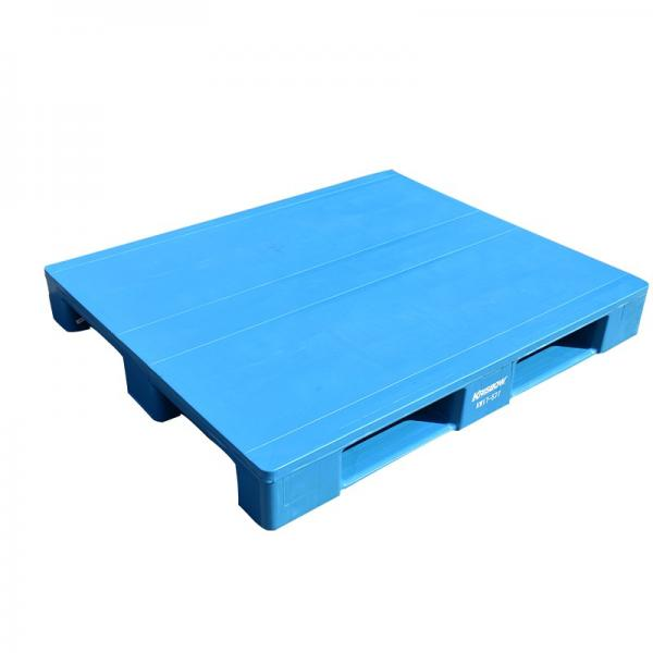 Customized Size Corrosion Resistant blue white black stackable metal pallets in low price #3 image