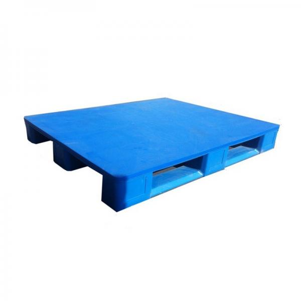 Euro Standard Recycled Heavy Duty HDPE Plastic Pallet #1 image