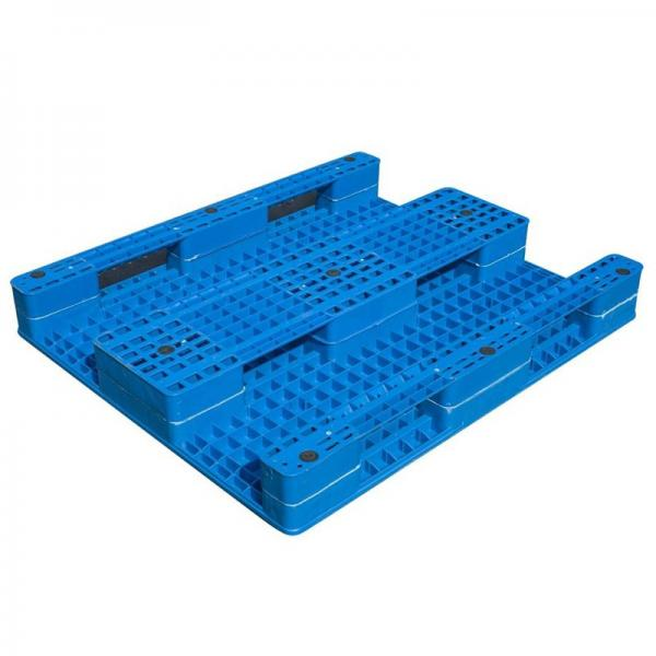 Euro Standard Recycled Heavy Duty HDPE Plastic Pallet #2 image