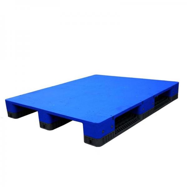 Euro Standard Recycled Heavy Duty HDPE Plastic Pallet #3 image