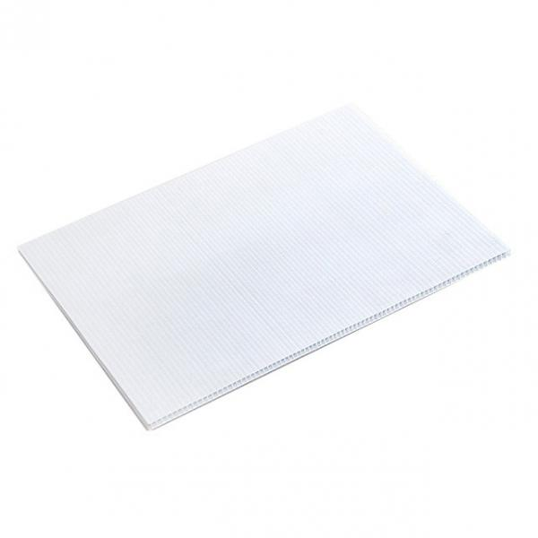 Clear Coroplast/Corflute/Correx Corrugated PP Plastic Hollow Sheets/Board #2 image
