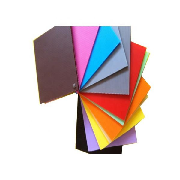 Free Sample Colorful Hollow PP Sheet Plastic Sheets Board #3 image