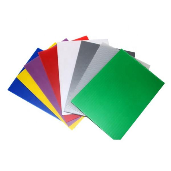 Free Sample Colorful Hollow PP Sheet Plastic Sheets Board #2 image