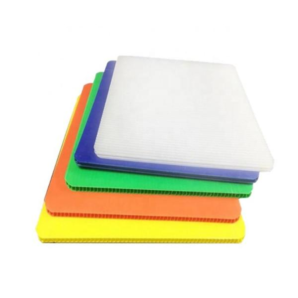 Colorful Hollow PP Sheet Corrugated Board Coloplastic in Alands Plastic #1 image