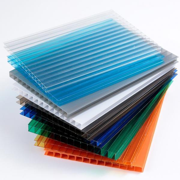 Roof Sheets Price Per Sheet/ Plastic Sheet/PC Hollow Sheet #3 image