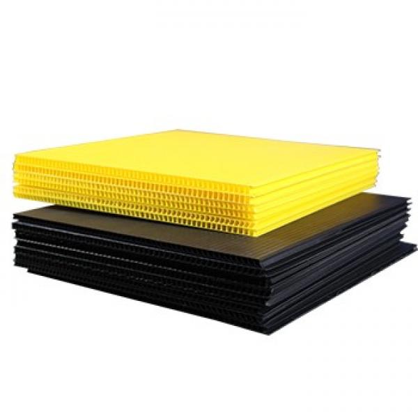 45mm thick corrugated cardboard pp foam hollow corrugated sheet, #3 image