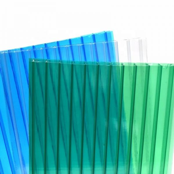 PC Hollow Rainshed Polycarbonate Hollow Roof Sheet #3 image