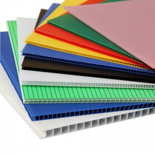 Any Colors Plastic Corrugated Plastic Sheet PP Hollow Sheet #3 image