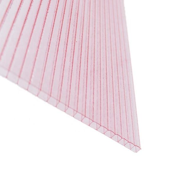 Polycarbonate Hollow Plastic Multiwall Corrugated Roofing PC Sheet Price in Kerala #2 image