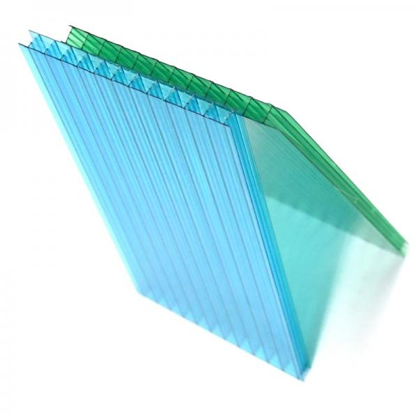 Recyclable Made in China Plastic PP Corrugated Hollow Board/Panel/Sheet #1 image