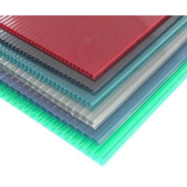 Free Sample Colorful Hollow PP Sheet Plastic Sheets Board #1 image
