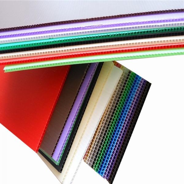 Corrugated Sign Board Coroplast Sheets Fluted Plastic Panels #1 image
