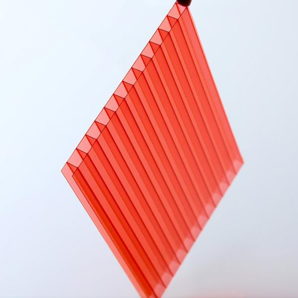 Thermal Insulation Colorful Hollow Plastic UPVC Roofing Tile PVC Roof Sheet for Warehouse #1 image