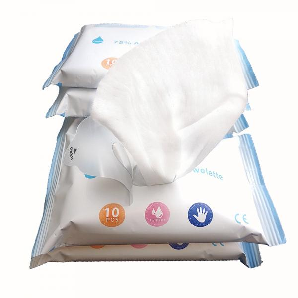 Medical Disposable 70% Isopropyl Wet Wipes Sterilizing Rate 99.9% #3 image